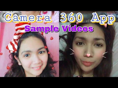 Camera 360 Application | Sample Videos | Inday Adventures