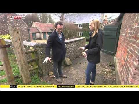 Roman Villa remains found in UK