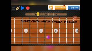 Real guitar virgoun surat cinta untuk starla