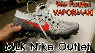 We Found Vapormax At MLK Nike Outlet