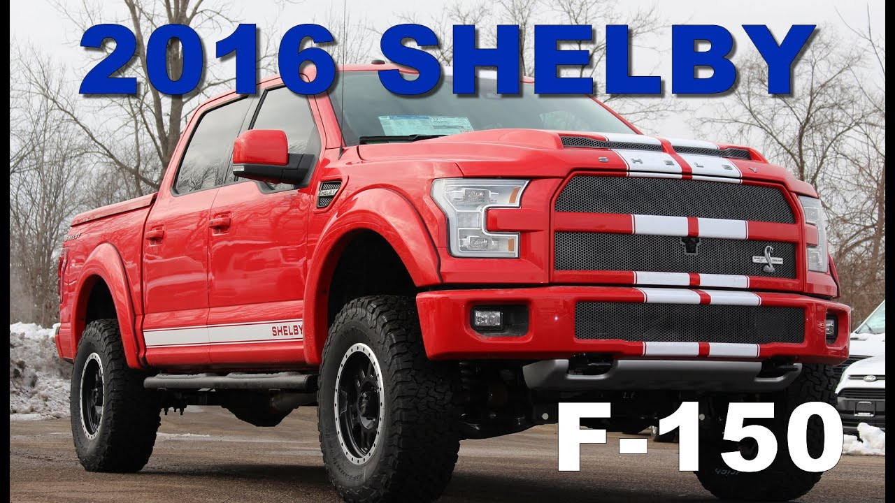 2016 Shelby F 150 Lifted Ford Upfit By And Tuscany