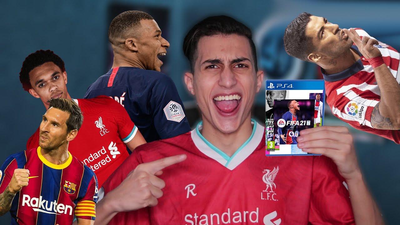 واخيراً أول تجربة للعبة فيفا 21 !!! FIFA 21