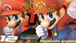 12 Oddities / Placeholder Graphics  in Smash Bros Ultimate!