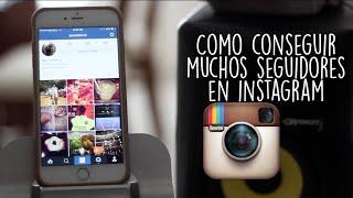 Como Conseguir Muchos Seguidores en Instagram