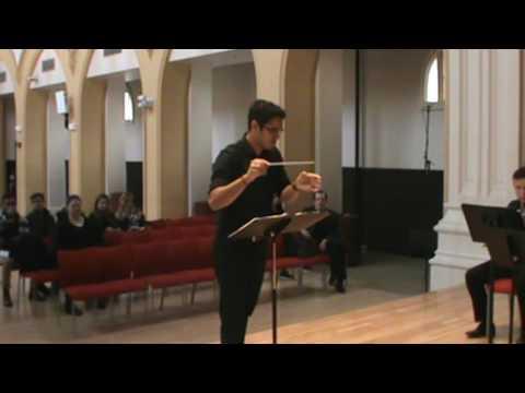 Northeastern University CAMD - Conducting Class Concert - Dec. 2016