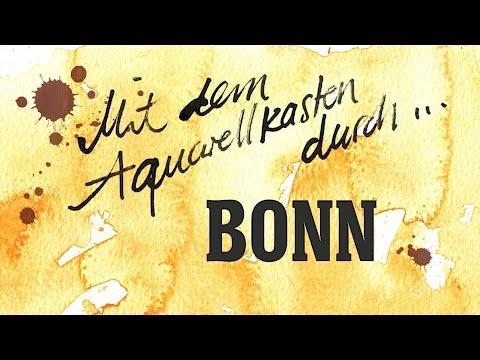 Mit dem Aquarellkasten durch ... Bonn