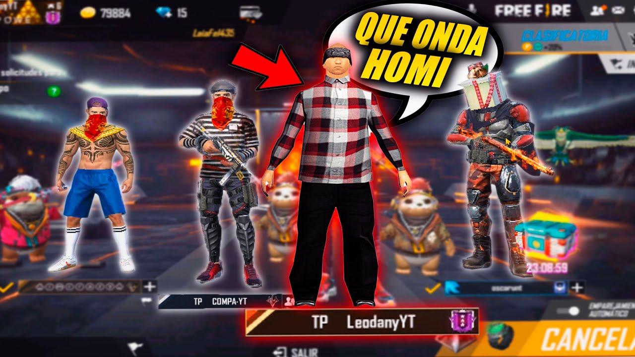 CHOLOS *TROLLEANDO* ESCUADRAS RANDOMS EN FREE FIRE!! 😂🤣