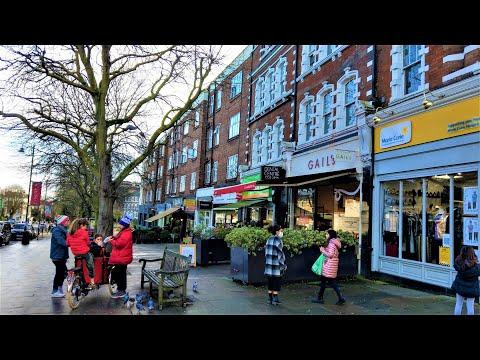London Walk -Belsize Park and Rosslyn Hill - UNSEEN LONDON