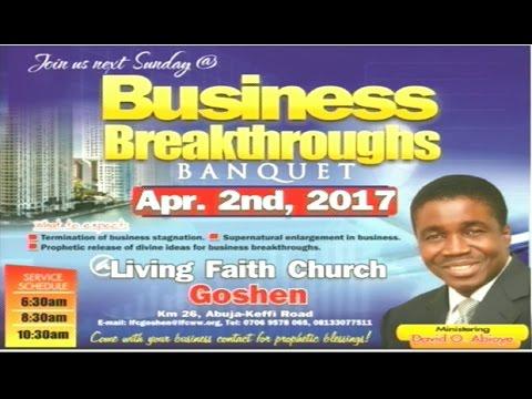 Sunday 1st Service: April 02, 2017