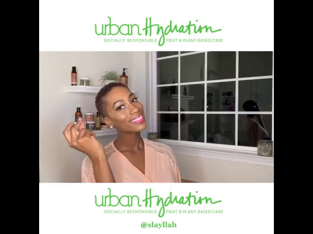 Pink Clay Whipped Mud Facial Mask by Urban Hydration