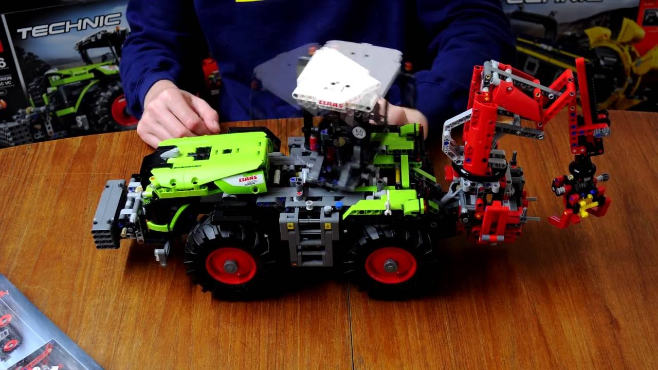 42054 Technic Lego Claas Xerion 5000 Trac Vc Youtube