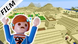 #11 Julian spielt Minecraft im Überlebensmodus & hat Angst vor Skeletten! Playmobil Film Deutsch