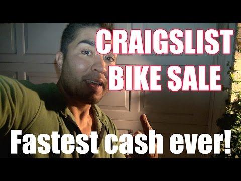 CRAIGSLIST BIKE SALE - FASTEST CASH EVER!