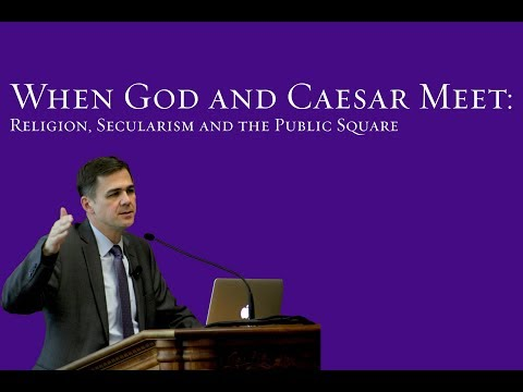 When God and Caesar Meet: Religion, Secularism and the Public Square - David Campbell