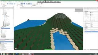 ROBLOX: Terrain hexagonal infini