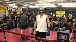 Smokers Bout - Mike Glowacki - The Ring Boxing Club -Boston, MA