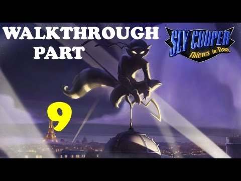 Sly Cooper: Thieves in Time - Walkthrough Part 9 Altitude Sickness