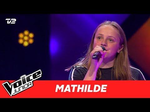"""Mathilde   """"Issues"""" af Julia Michaels   Blind 3   Voice Junior Danmark 2017"""