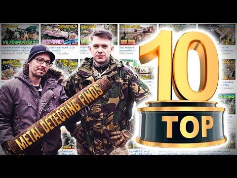 Top 10unbelievablediscoveries in 2016!WW2 metal detecting