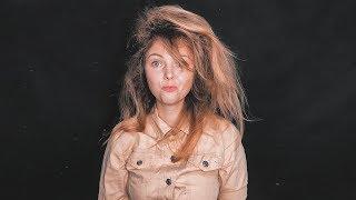 Объем БЕЗ НАЧЕСА и ГОФРЕ. Как сделать объем у корней на тонких волосах? ПРИЧЕСКИ. ©LOZNITSA