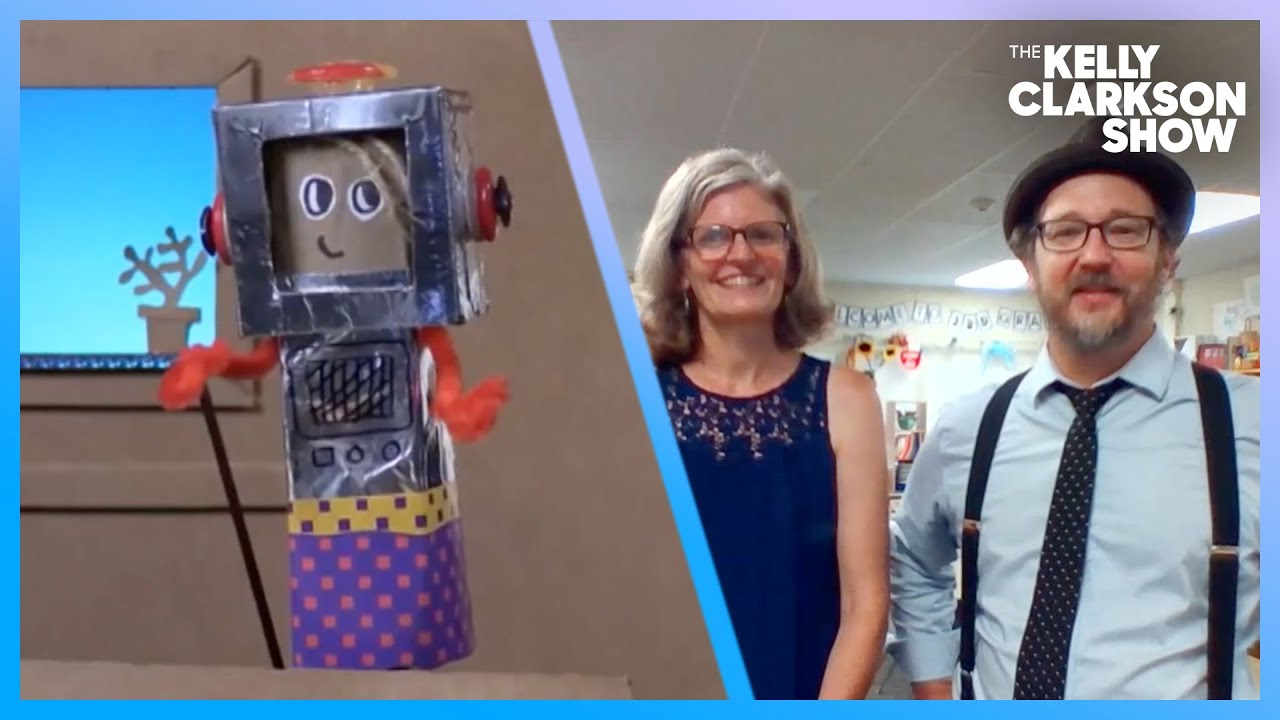 Teacher Couple Would Make Mr. Rogers Proud With Weekly Online Puppet Show