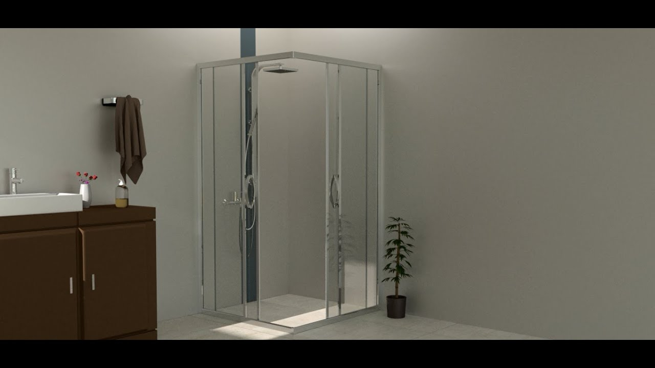 JAQUAR ENNA SHOWER ENCLOSURE INSTALLATION - YouTube