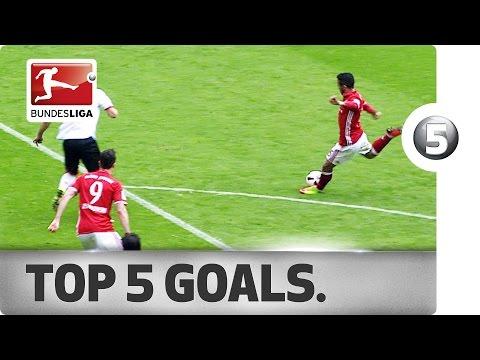 Топ-5 лучших голов 30-го тура Бундеслиги
