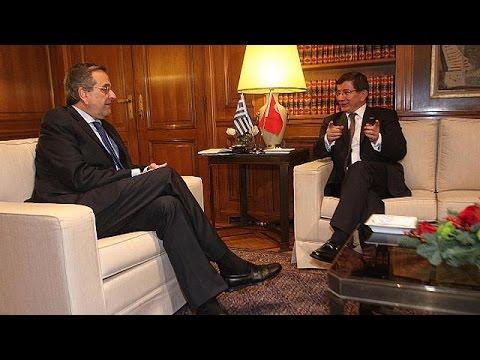 Davutoğlu Yunanistan'da konuştu:...