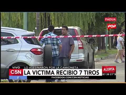 C5N - Policiales: Asesinaron a un subcomisario de la PFA en San Antonio de Padua (Parte 1)