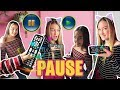 PAUSE ⏸CHALLENGE/▶️PLAY con pinkys girls