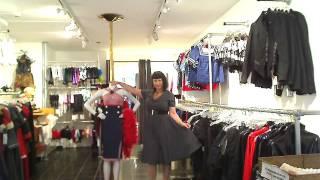 Lise wearing Rhonda doll dress Thumbnail