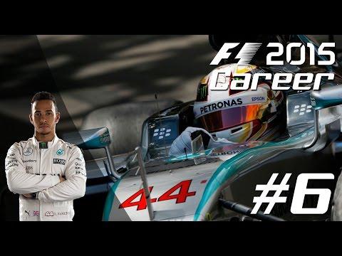 F1 2015 LEWIS HAMILTON Career Mode - PART 6 CANADIAN Grand Prix!