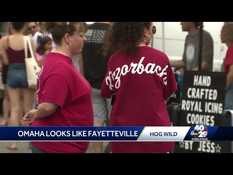 Steve Knoll - Hogs Fans Take Over Omaha for CWS