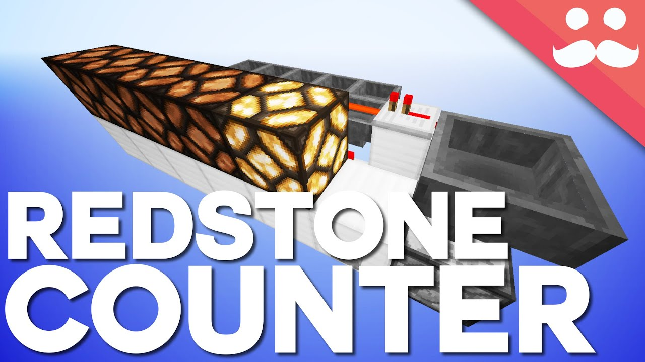 Minecraft The Redstone Counting System Day 13 Youtube We Will Use Comparators To Detect When A Hopper Is Empty Each Time