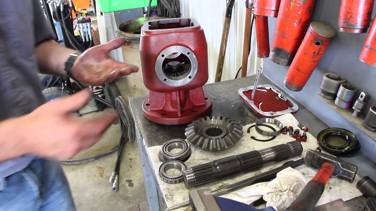 Schulte Gearbox Teardown XH1500 Series 3 & 4 Straight
