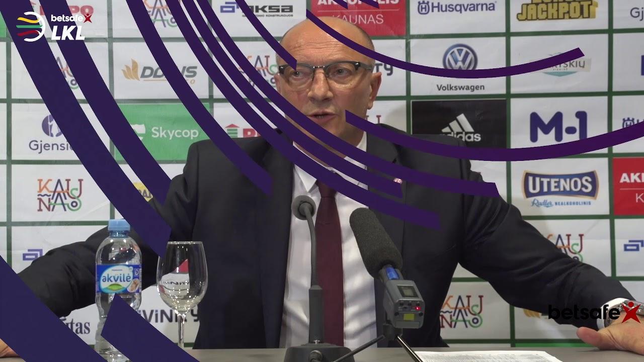 """""""Betsafe–LKL"""" rungtynių komentarai: """"Žalgiris"""" - """"Lietkabelis"""" [2018-05-29]"""