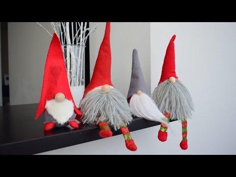Гномы рождественские сшить