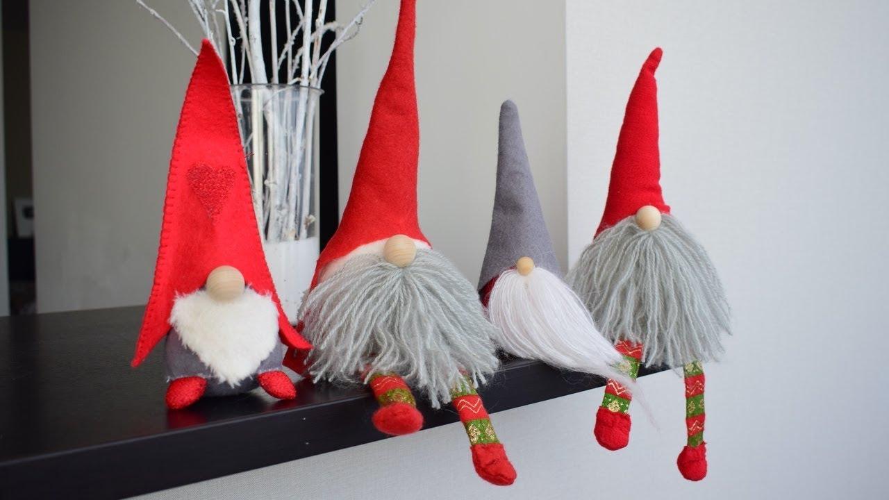 Рождественские гномы своими руками