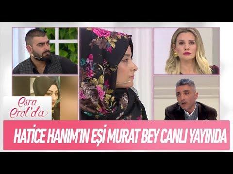 Hatice Hanım'ın eşi Murat Bey canlı yayında - Esra Erol'da 5 Şubat 2019