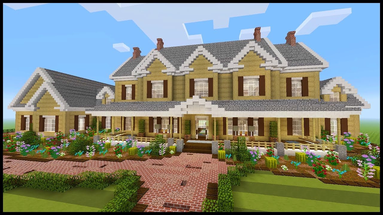 Minecraft: How to Build a Mansion #9  PART 9