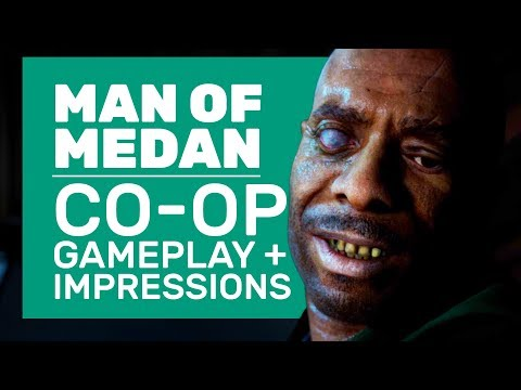 The Dark Pictures: Man of Medan Gameplay | Co-Op Horror Walkthrough And Impressions