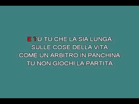 Matto e vigliacco   Paoli Gino [karaoke]