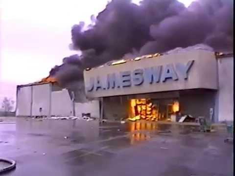 Jamesway Fire 1990 Youtube