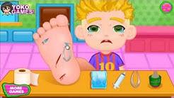 Big Foot-Arzt Neue Spiele Für Kinder und Mädchen - Spiele und Cartoons! -