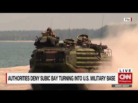 Authorities deny Subic bay turning into US military base