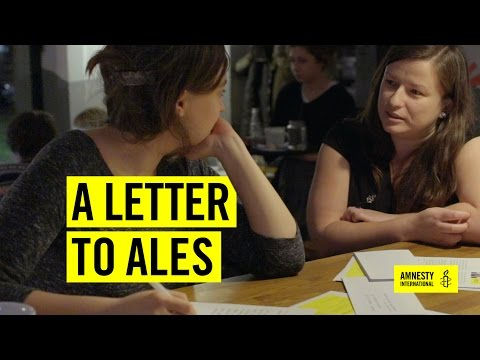 A letter for Ales