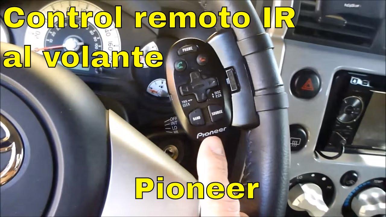 Pioneer CD-SR110 Mando a Distancia para el tim/ón Negro