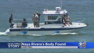 Sheriff 'Confident' Body Found At Lake Piru That Of Missing 'Glee' Actress Naya Rivera