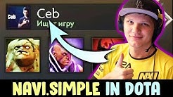 S1mple is OG.Ceb FAN — tries Dota with his girlfriend