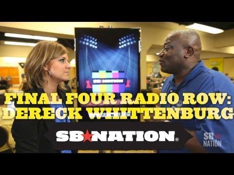 Final Four Radio Row - Dereck Whittenburg